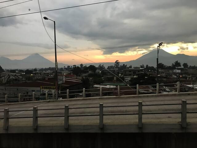Apartamento con vista a volcanes de antigua!!