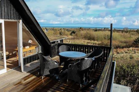 Lejlighed med havudsigt og terrasse