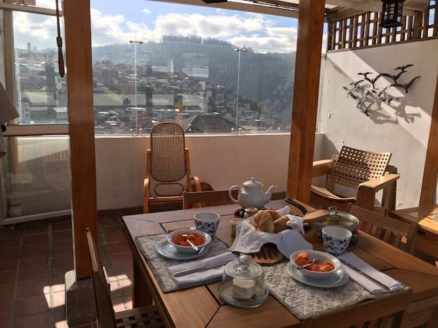 Stunning views at the heart of historic Quito