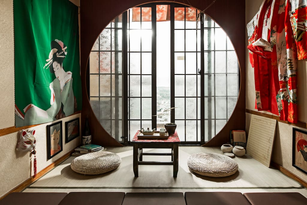 Japanese traditional room bed and breakfasts for rent in for Tokyo bed and breakfast