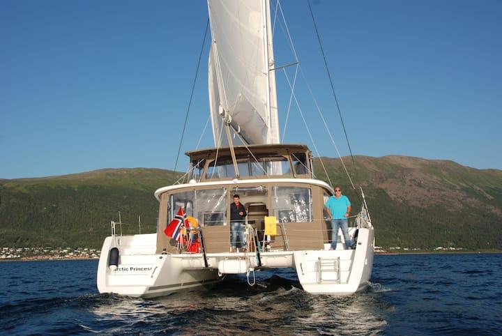 ARCTIC PRINCESS Sailing Catamaran