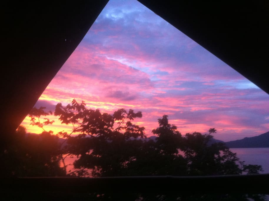 See the sunrise every morning from your window
