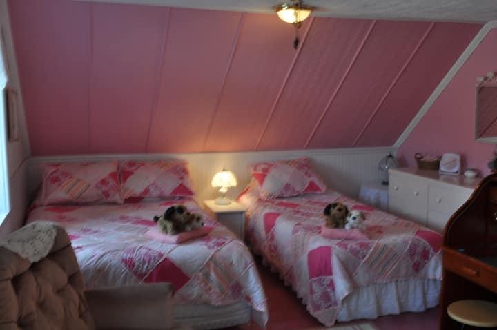 Gite Petit B&B - Pink room