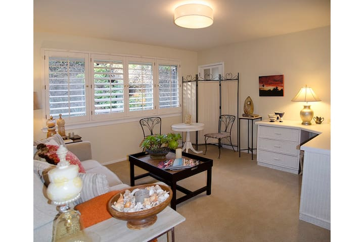 Secluded Garden Apartment Near Mission