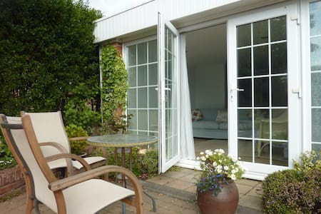 Self-contained studio garden flat - Exmouth - Apartment