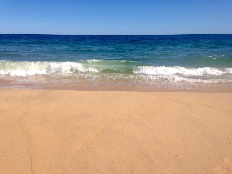 Pristine Amagansett beach located at 12mn