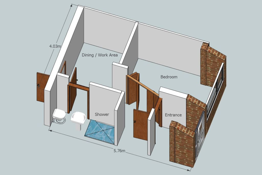 Renovated 2013, modern fittings & underfloor heating throughout