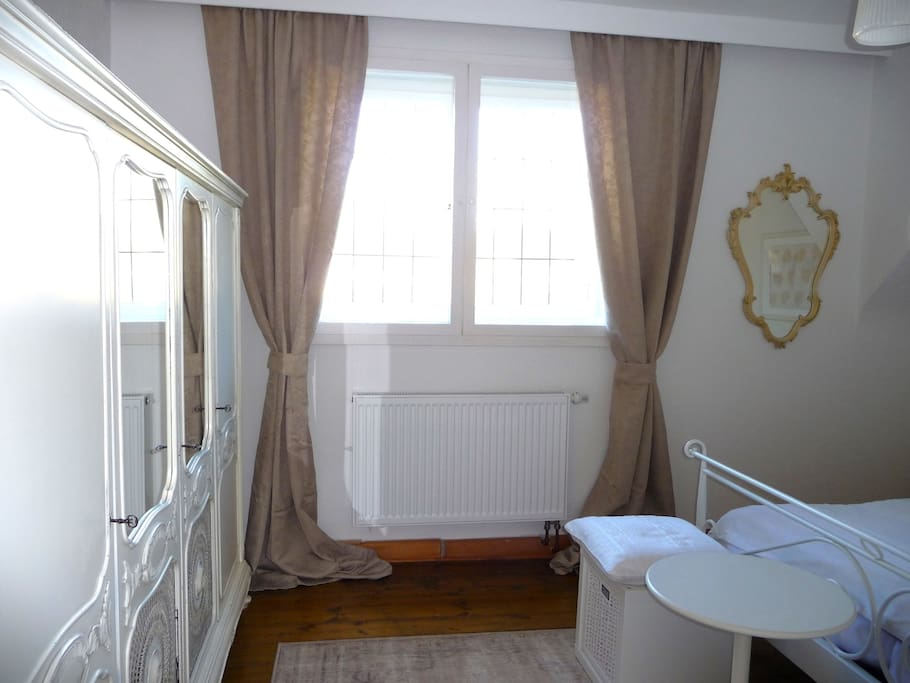 Schlafzimmer im Vintage-Stil