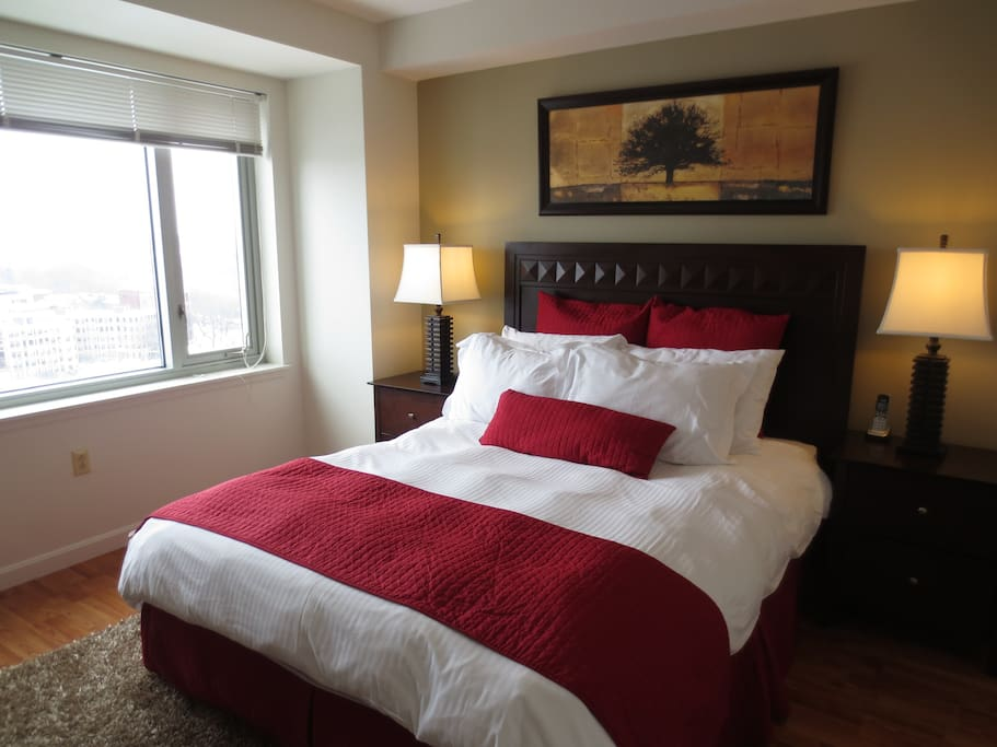 Lux 1 Bedroom By Fenway With Washer Dryer WIFI Apartments For Rent In