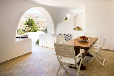 НОВЫЕ апартаменты Afroditi 's - Ftelia beach B