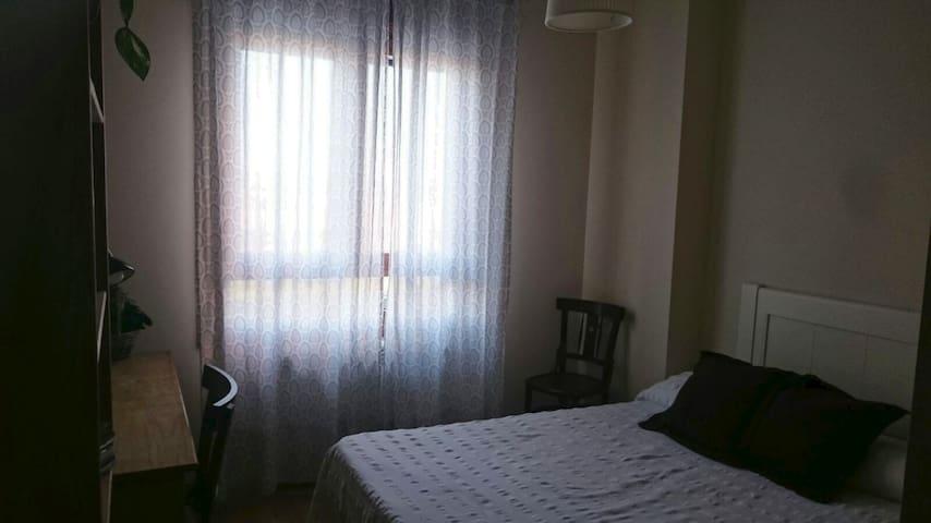 Acogedora habitación con baño privado en Soria - Soria - Appartement
