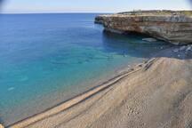 Spilies Geropotamos beach 6 km away
