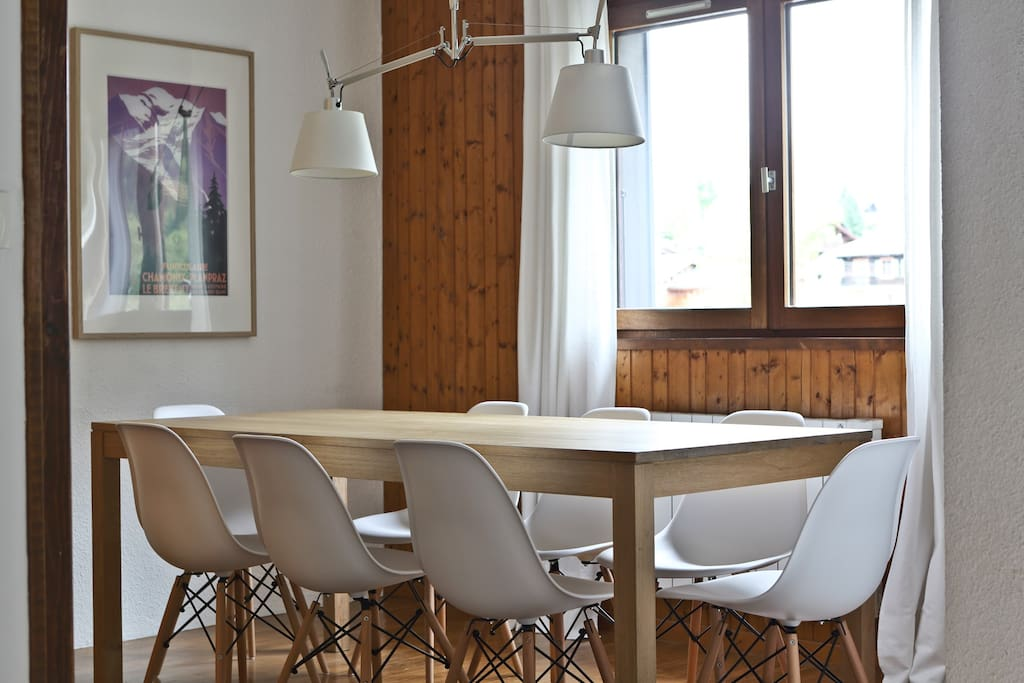 salle à manger pour 8 personnes