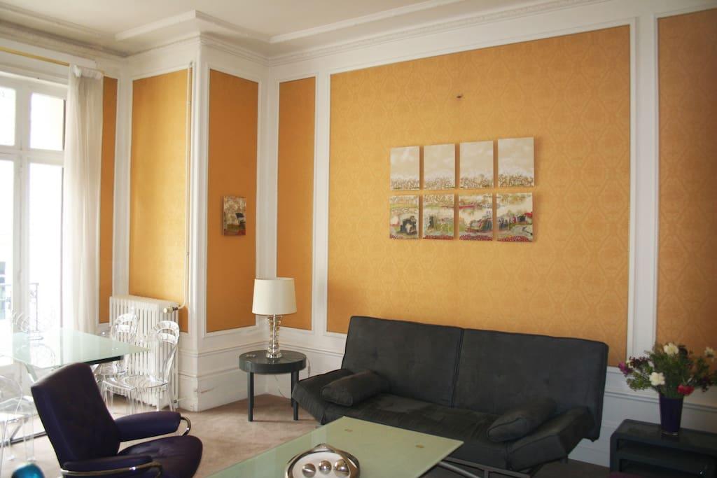 cot cour appartement de prestige appartements louer vichy auvergne france. Black Bedroom Furniture Sets. Home Design Ideas