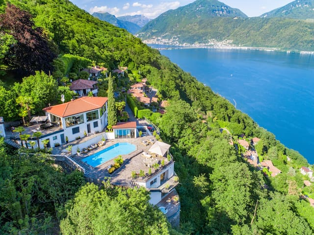 Luxury villa with Panoramic view in Lugano