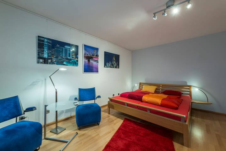 Stylisches Gästezimmer mit schöner Ausstattung