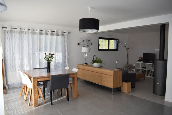 Maison moderne en Normandie, à 5 min de Caen