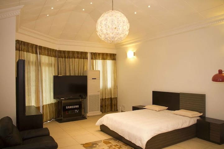 Fully equipped and comfortable environment.