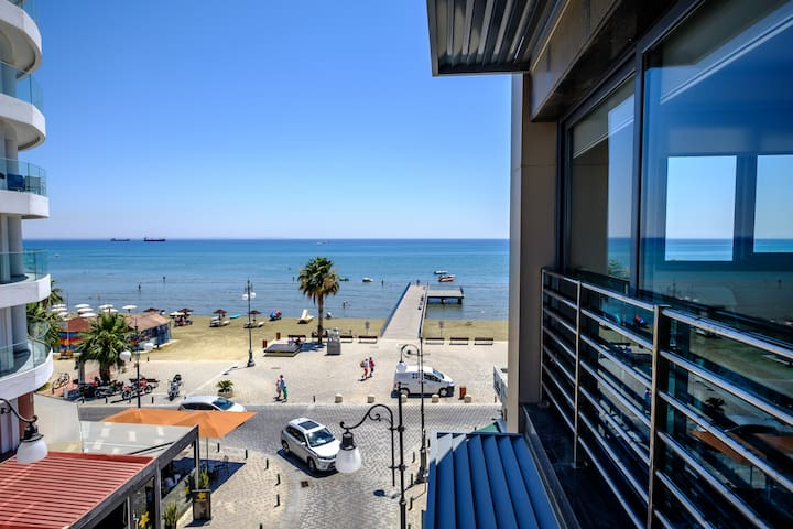 The Sea View from the Balcony