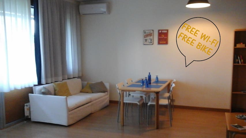 Beautiful Open Space Udine city center - Udine - Appartement
