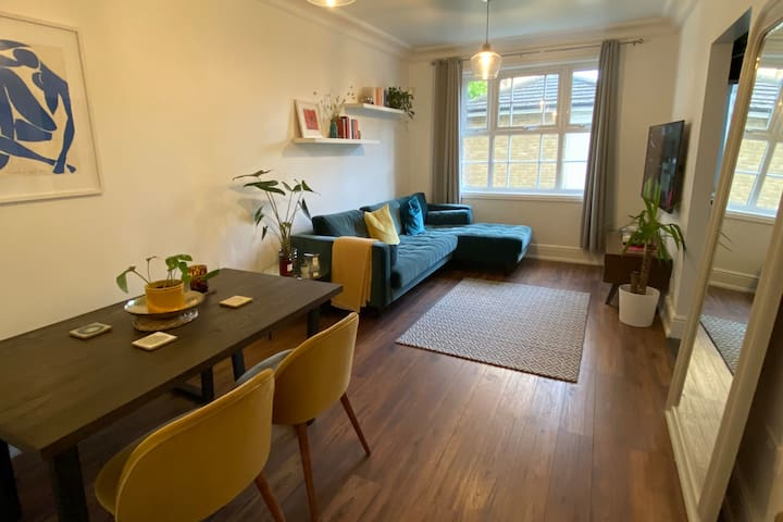 Bright and peaceful 1 bed flat in East London