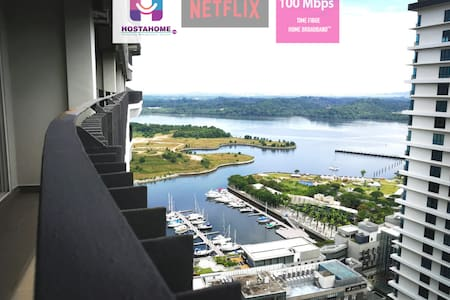 ❤️❤️Spectacular Sea View w [NETFLIX] at Puteri H❤️