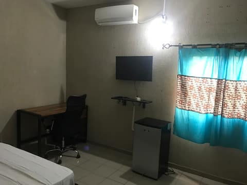 Discreet and friendly apartment room.