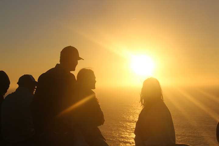 Sunset at Cabo da Roca
