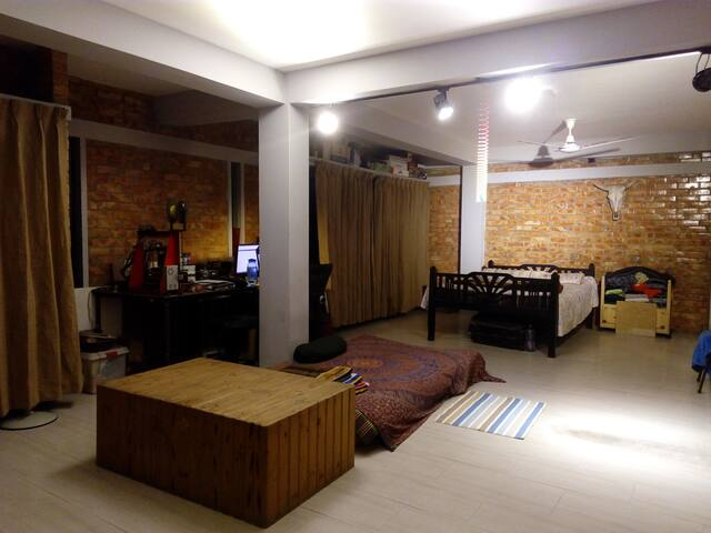 Modern Rooftop Studio Apartment with Porch - Tongi Bazar - Lakás