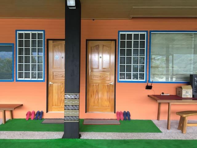 《御會館》【享樂活】精緻雙人房型,公共空間大適合渡假旅遊休憩 鄰近#新社 #谷關 #東勢