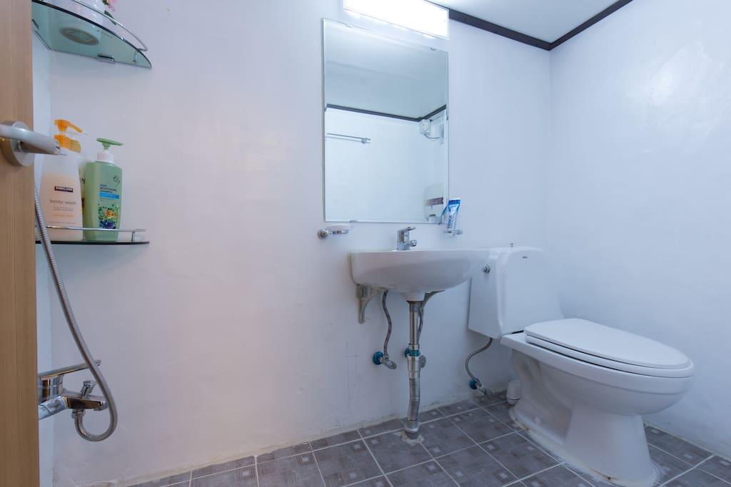 게인 전용 화장실및 샤워