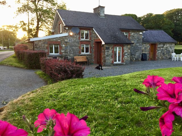 Dan Rua's Cottage, beside Lough Sheelin.