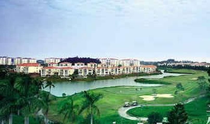 仙湖边两房两厅一卫浴别墅型公寓 - Foshan Shi - Apartamento