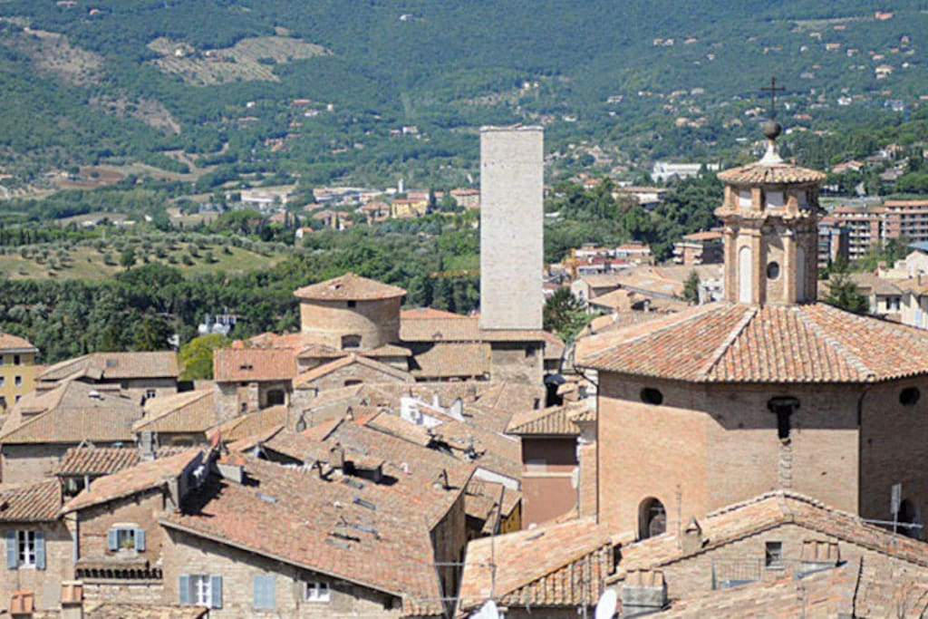 Panorama con Torre degli Sciri