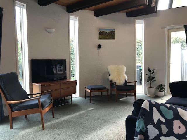 Mid Century Magic Sumner beach apartment.