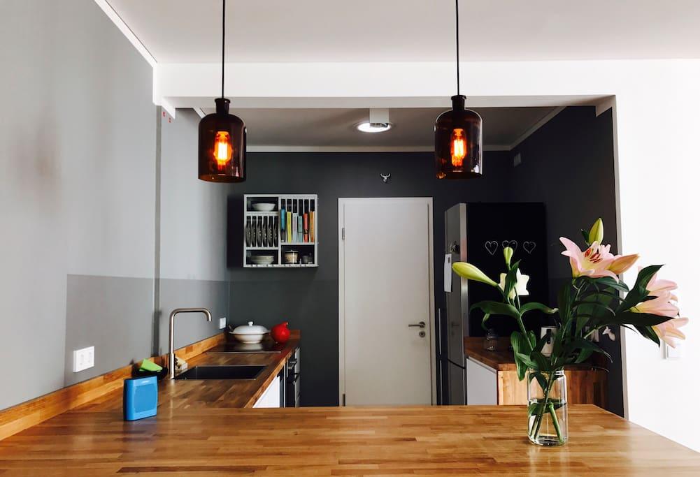 Unsere Bar und Küche