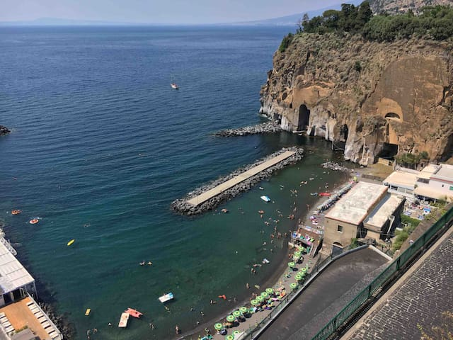 Sorrento/Positano  apartment coast  with sea view
