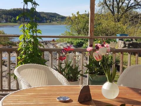 Vid Havet, nära Uddevalla, privata rum med balkong