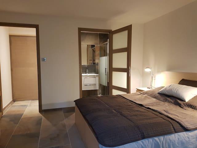 Chambre double avec vue sur la Canche ( rivière ) - Wail