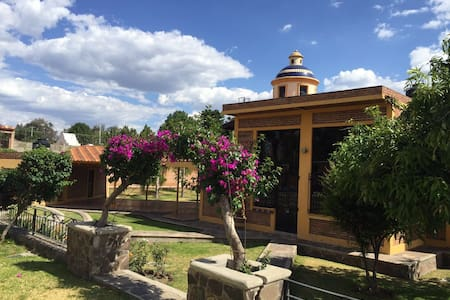 CASA DE CAMPO , DESCANSO A SOLO 15 MIN DE GDL - Huertas del Zamorano - Huis