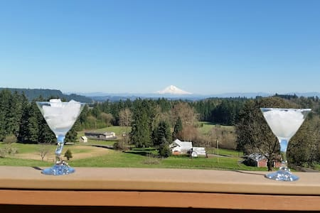 Sunday morning quiet , Mt Hood view, close to all! - Oregon City - Dům