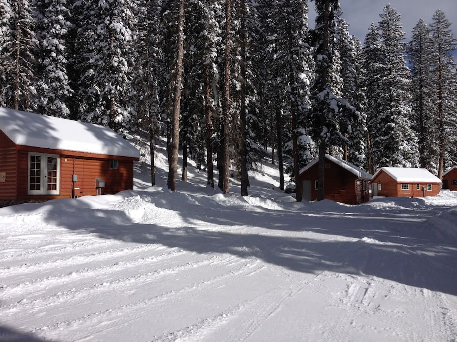 Thunder mountain lodge cabin 4 cottages for rent in for Colorado ski cabins for rent