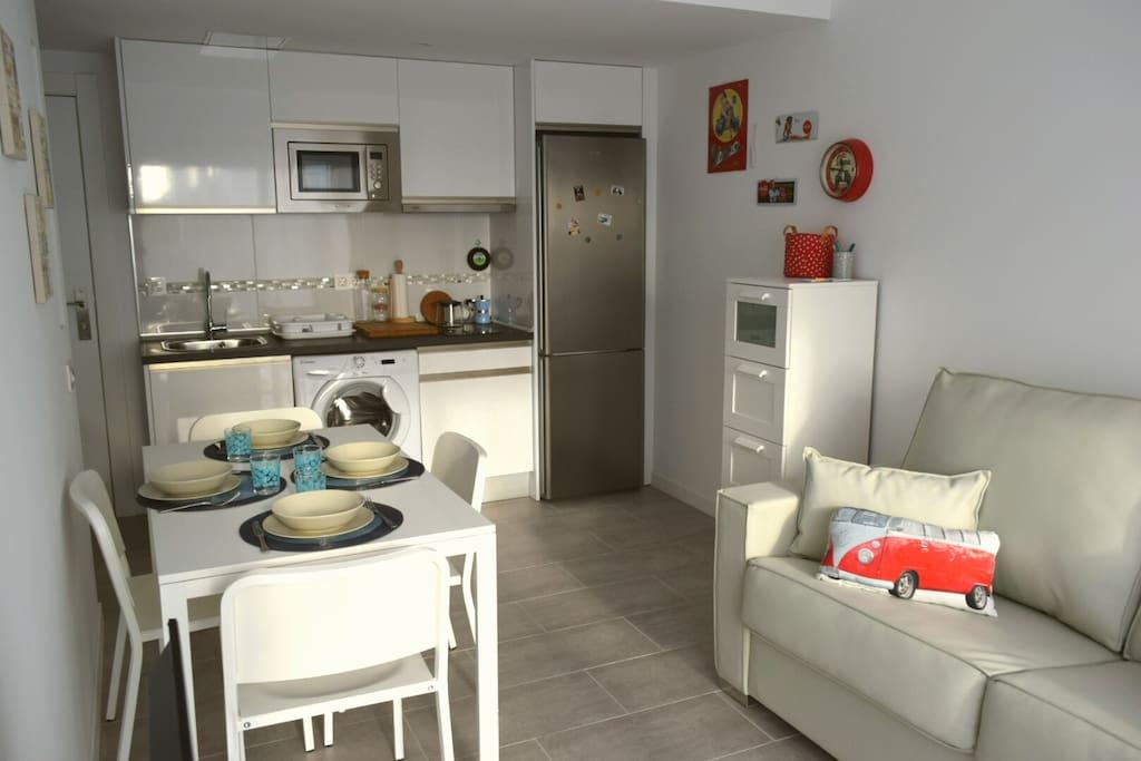 Cucina - living room