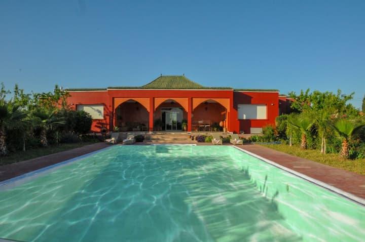 VILLA Ksar JANNA (Meknès, Maroc)