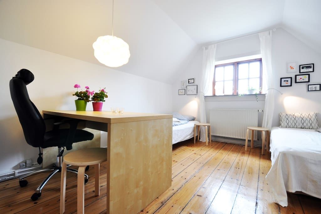 unique place in the heart of cph bed and breakfasts for rent in copenhagen capital region of. Black Bedroom Furniture Sets. Home Design Ideas