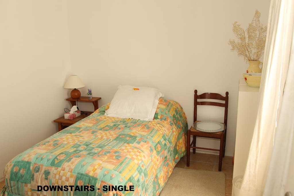 Single Bedroom on Ground floor with easy access to Bathroom, Kitchen & Living Rooms