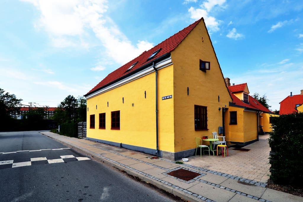 Unique place in the heart of cph reihenh user zur miete for Unterkunft kopenhagen