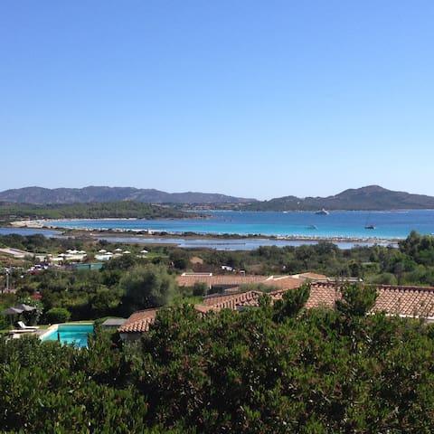 Villa Vista mare 400 mt spiaggia - Lu Impostu