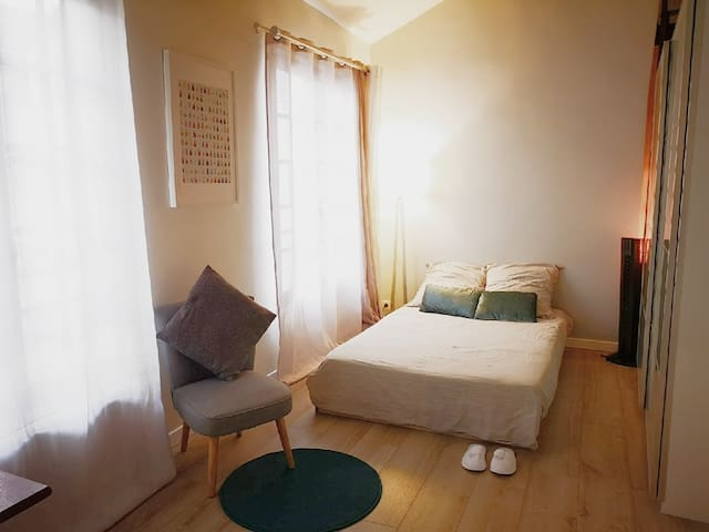 Atypique cosy appartement 巴黎圣母院旁玛莱区2019全新装修独立小居