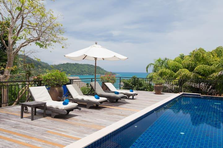 Luxury Seaview Villa on Kata Noi, Phuket